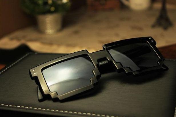 Okulary pixelowe za 20zł
